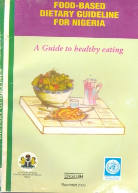 Food based dietary guidelines nigeria food security cluster food based dietary guidelines nigeria forumfinder Image collections