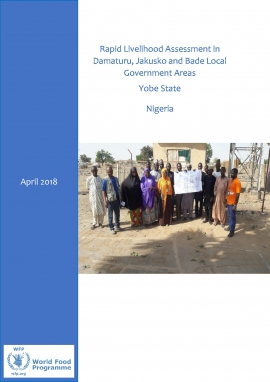 Rapid Livelihood Assessment in Damaturu, Jakusko and Bade