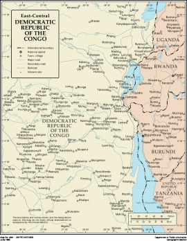 Download the map of East DRC | Food Security Cluster on