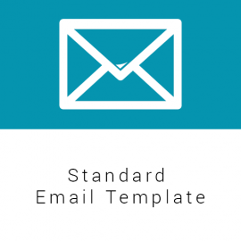 Standard Email Template Food Security Cluster