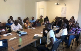 Food Security Cluster Coordination meeting for SW partners in Buea - 21 August 2019.