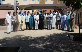 Participants at the FSS Information Management and Reporting Workshop