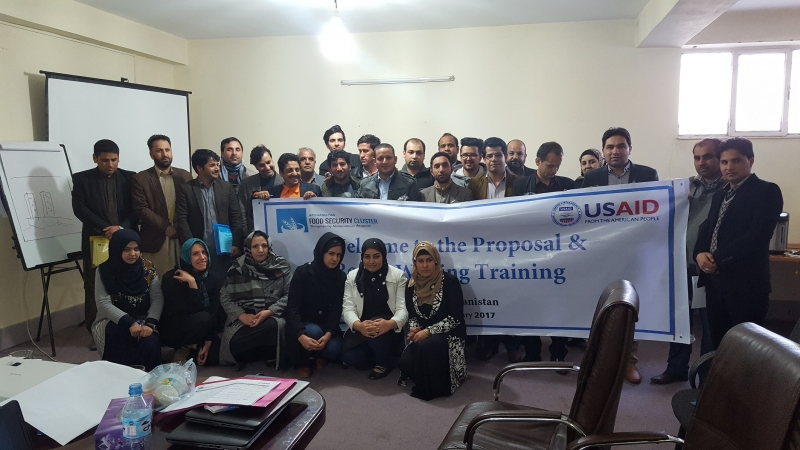 Fsac Proposal And Report Writing Training In Hirat 27th And 28th